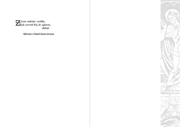 Kartka wielkanocna - wzór 6