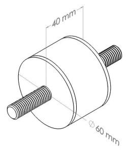Wibroizolator gumowo-metalowy Sklep internetowy firmy