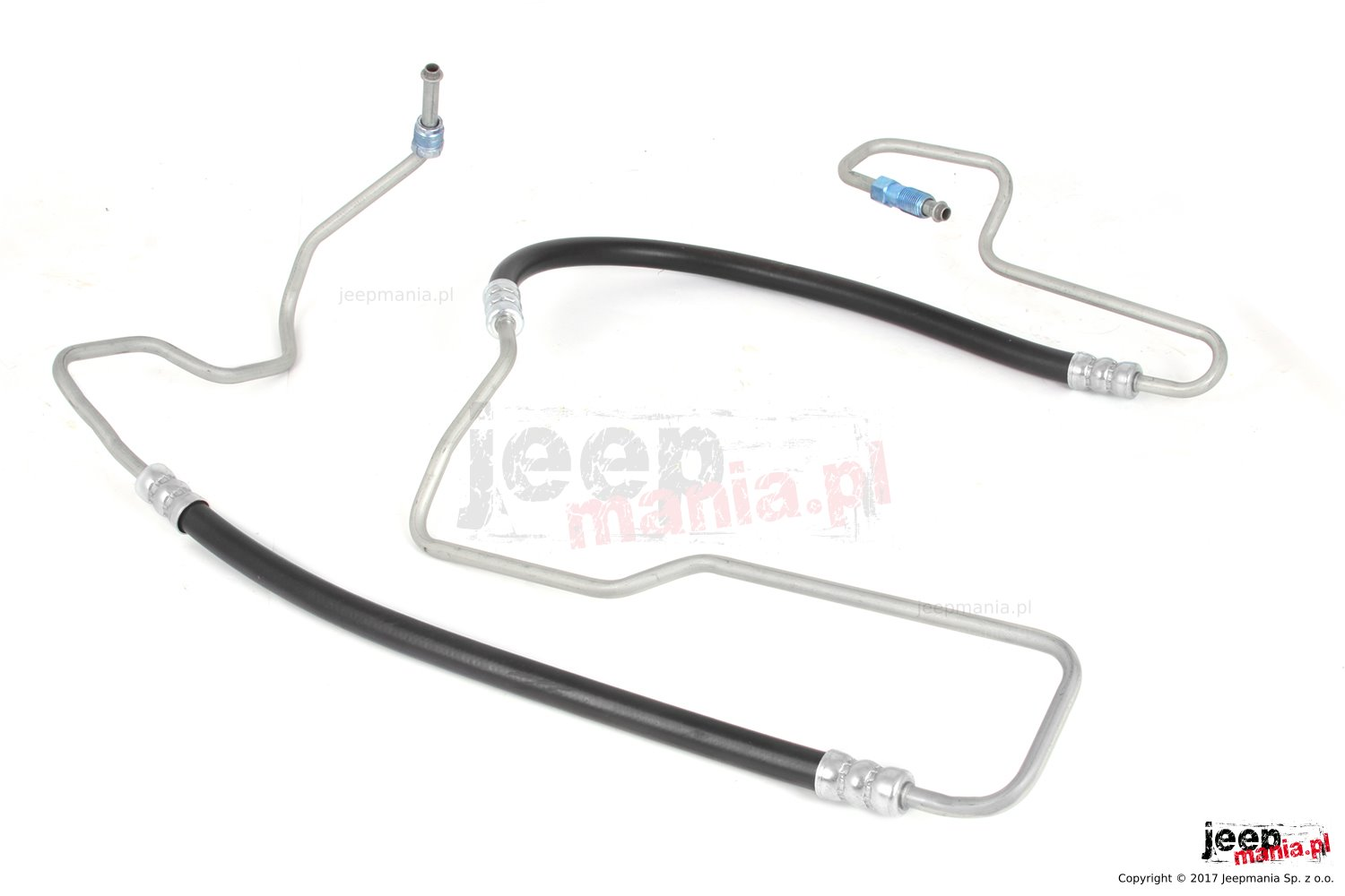 Power Steering Pressure Hose, 3.7L/4.7L : 05-10 Jeep Grand