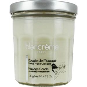 BLANCREME TRUSKAWKA i GRANAT - świeca do masażu