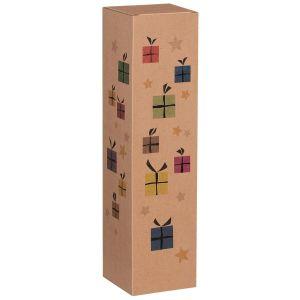 Pudełko na butelki Christmas Surprise 1x0,75l
