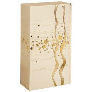 Złote Święta Pudełko prezentowe 2x0,75l