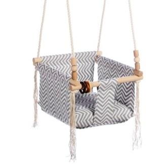 Huśtawka Retro Pearl Zigzag Swing