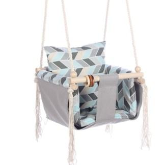 Huśtawka Art Deco Azure Pearl Arrows