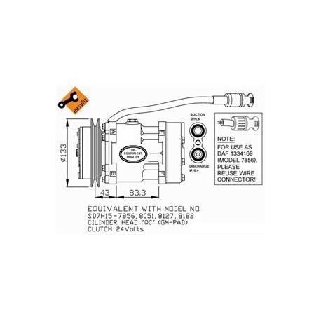 DAF 95XF 95 XF TRUCK LORRY WAGON WIRING ELECTRICAL DIAGRAM