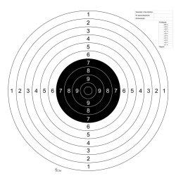 Tarcze strzeleckie - sportowe