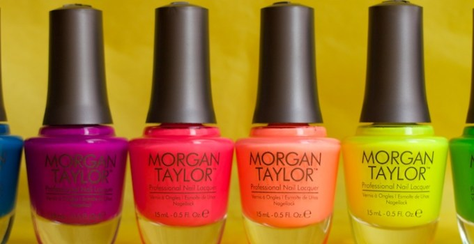 Morgan Taylor - Neon Lights summer 2014 collection