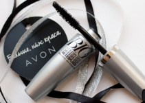 Avon BIG&Multiplied Volume Mascara swatches Ann Sokolova