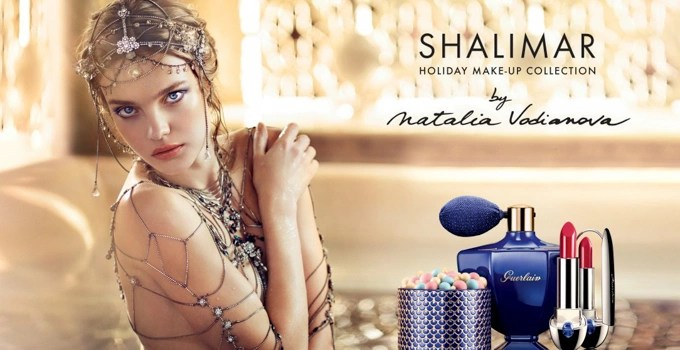 Guerlain Shalimar Holiday Make Up Collection by Natalia Vodianova