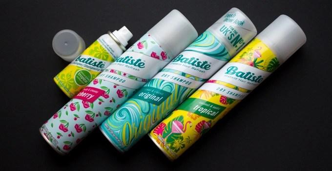 Batiste Dry Shampoo Ann Sokolova