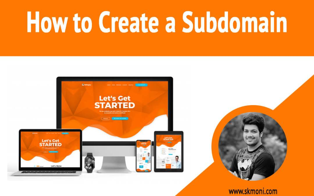 How to Create a subdomain (2020)