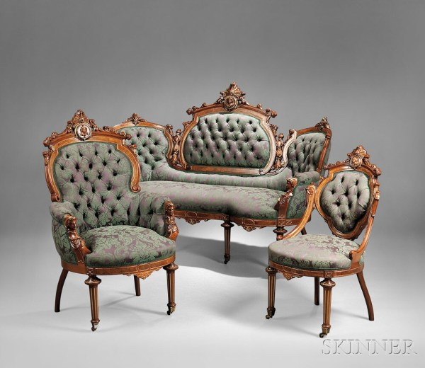 19th Century Parlor Furniture