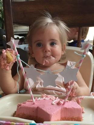 Kira's first birthday 122