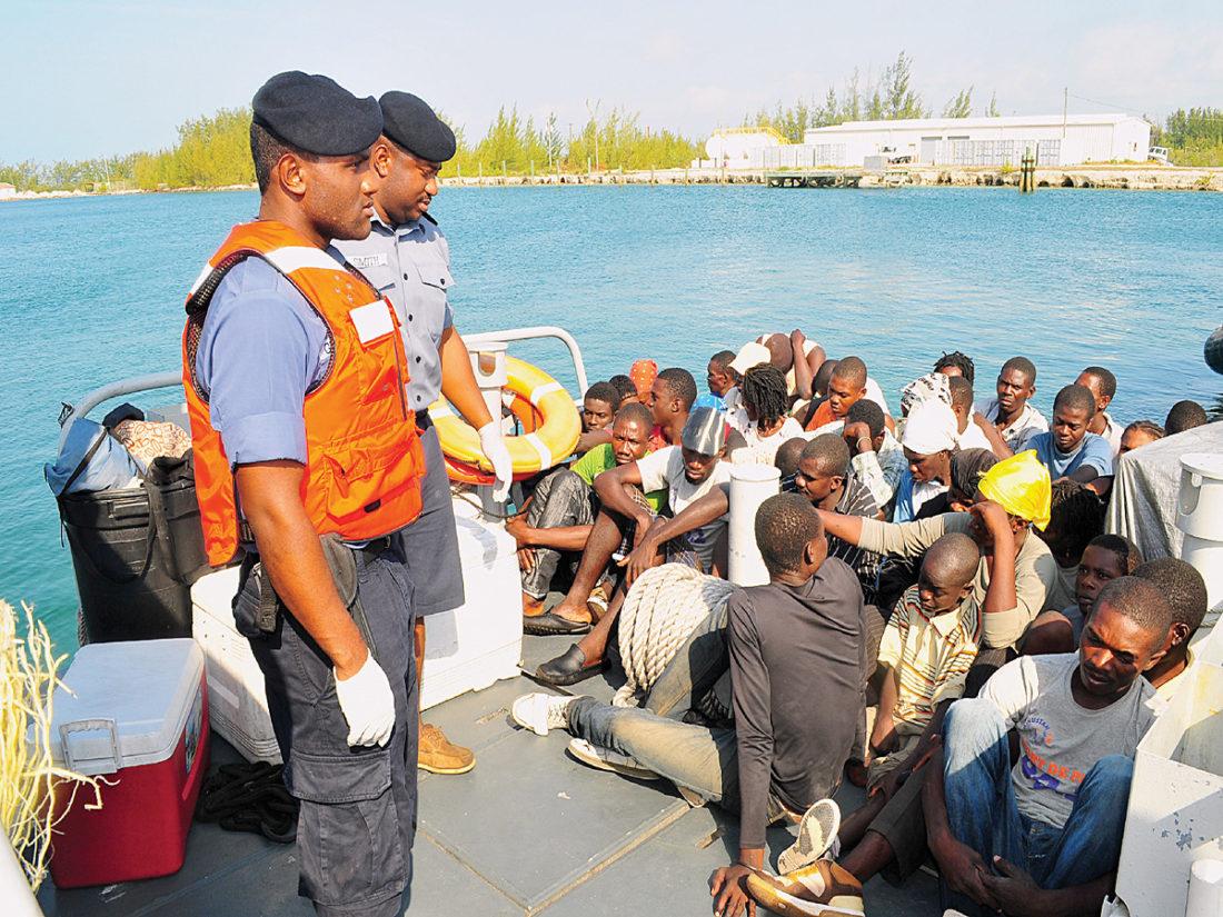 unidentified vessel drops haitian migrants in st kitts