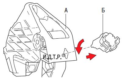 Замена главного цилиндра гидропривода выключения сцепления