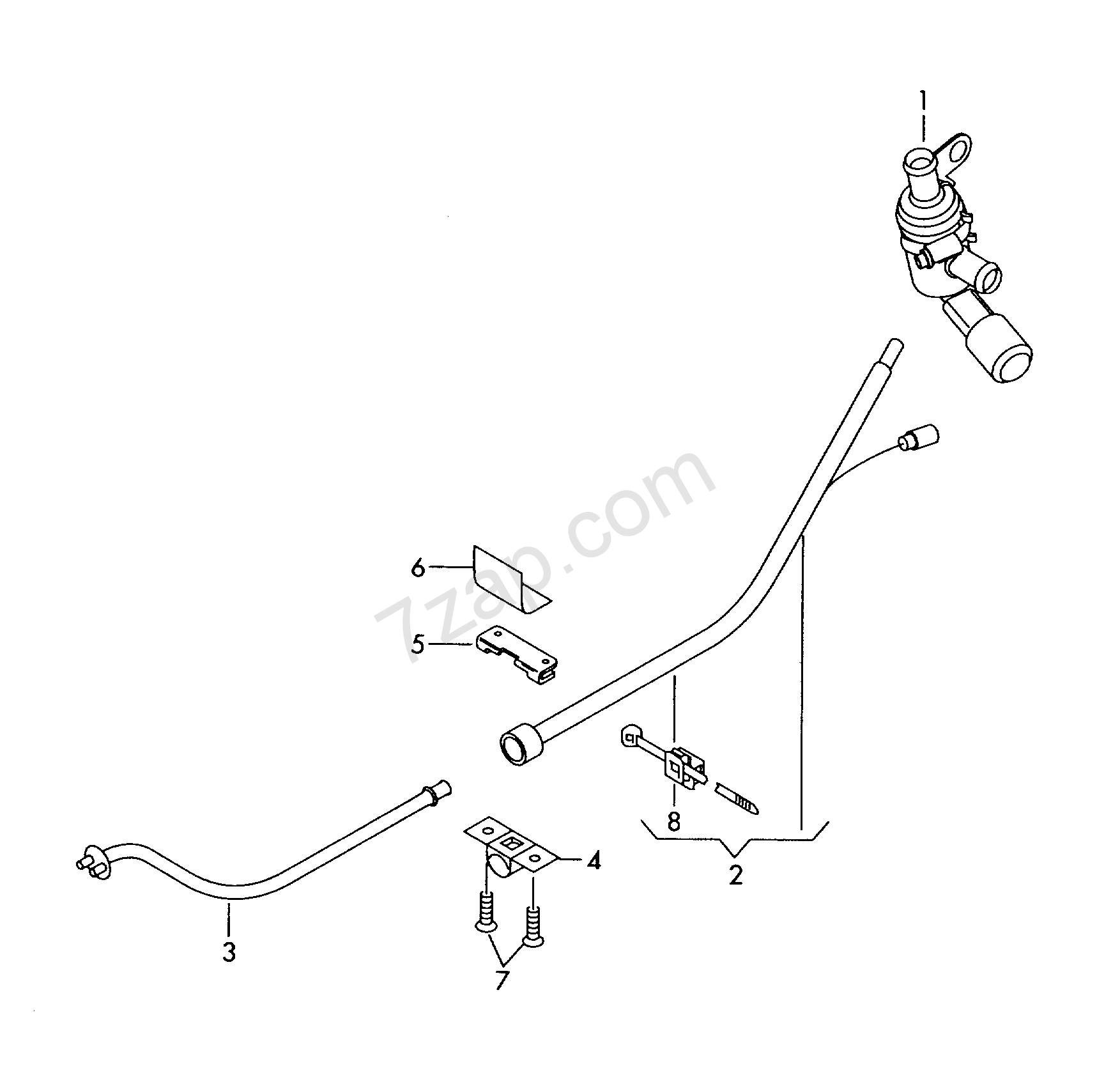 wiring harness for additional current supply Octavia (OCT