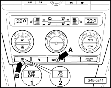 Skoda Workshop Manuals > Octavia Mk2 > Brake systems > ABS