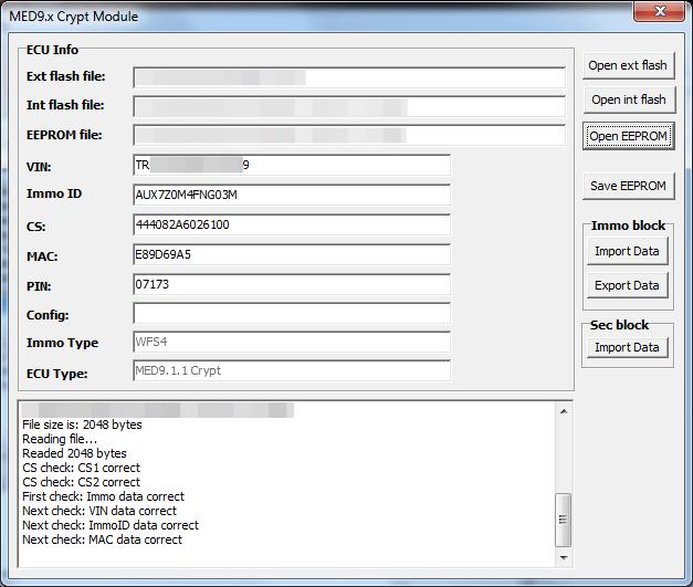 Модуль MED9 WFS5