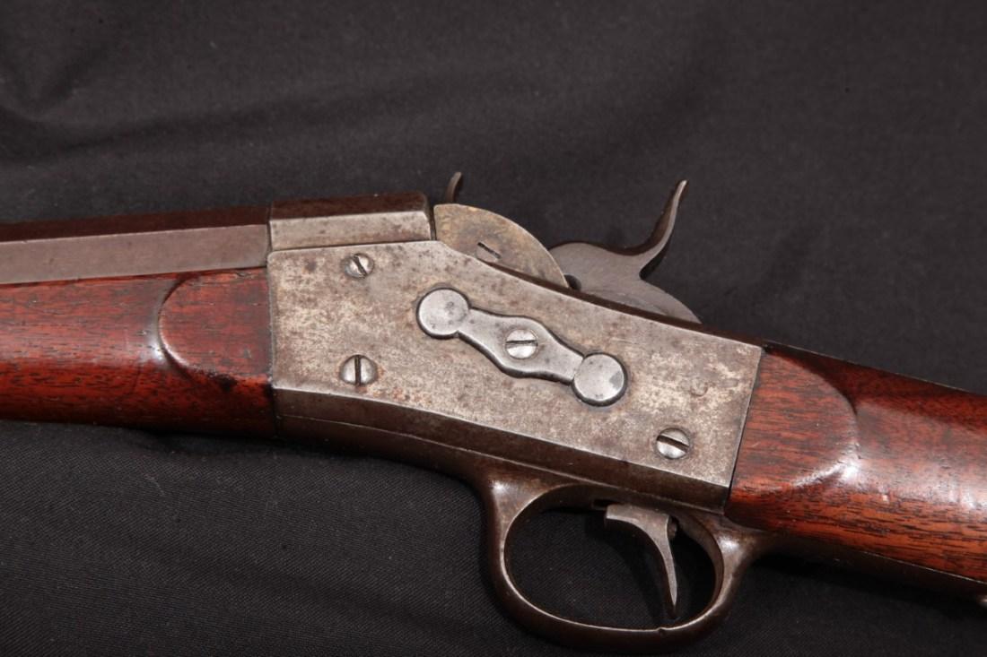 BUFFALO  US Remington Rolling Block .46 Long