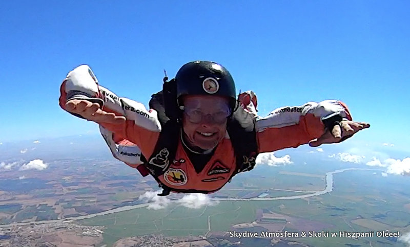 aff course skydive spain
