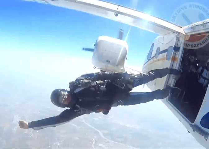 sevilla, andaluzja, skydiveatmosfera, aff course in spain,skydiving course in spain