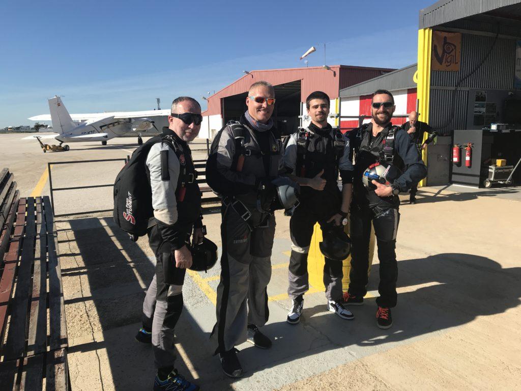 skydive spain, skoki w hiszpanii, dornier, skydiver, kurs aff