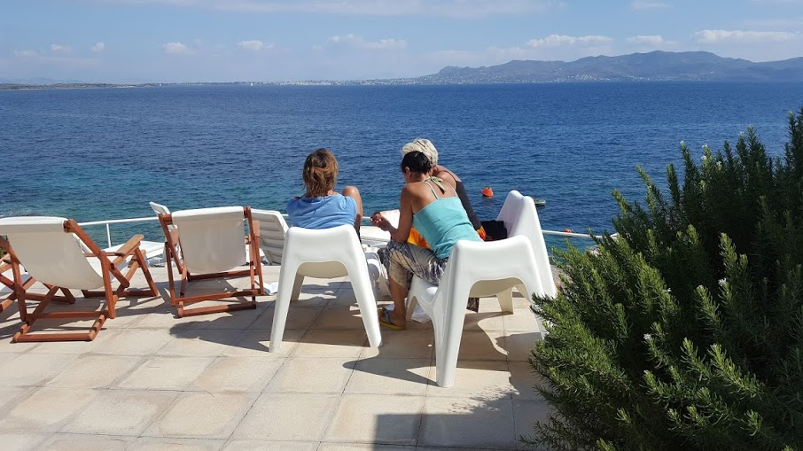 Time out to tune in, Greece