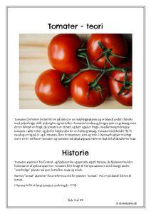 thumbnail of Tomater – teori