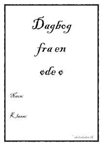 thumbnail of Dagbog fra en øde ø hæfte