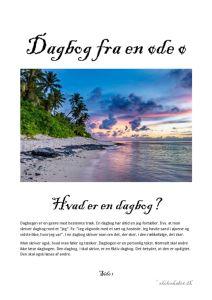 thumbnail of Dagbog fra en øde ø – opgavebeskrivelse