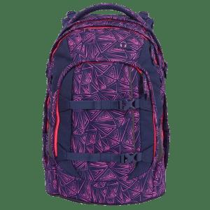 Satch Skoletaske - Pack - Pink Bermuda