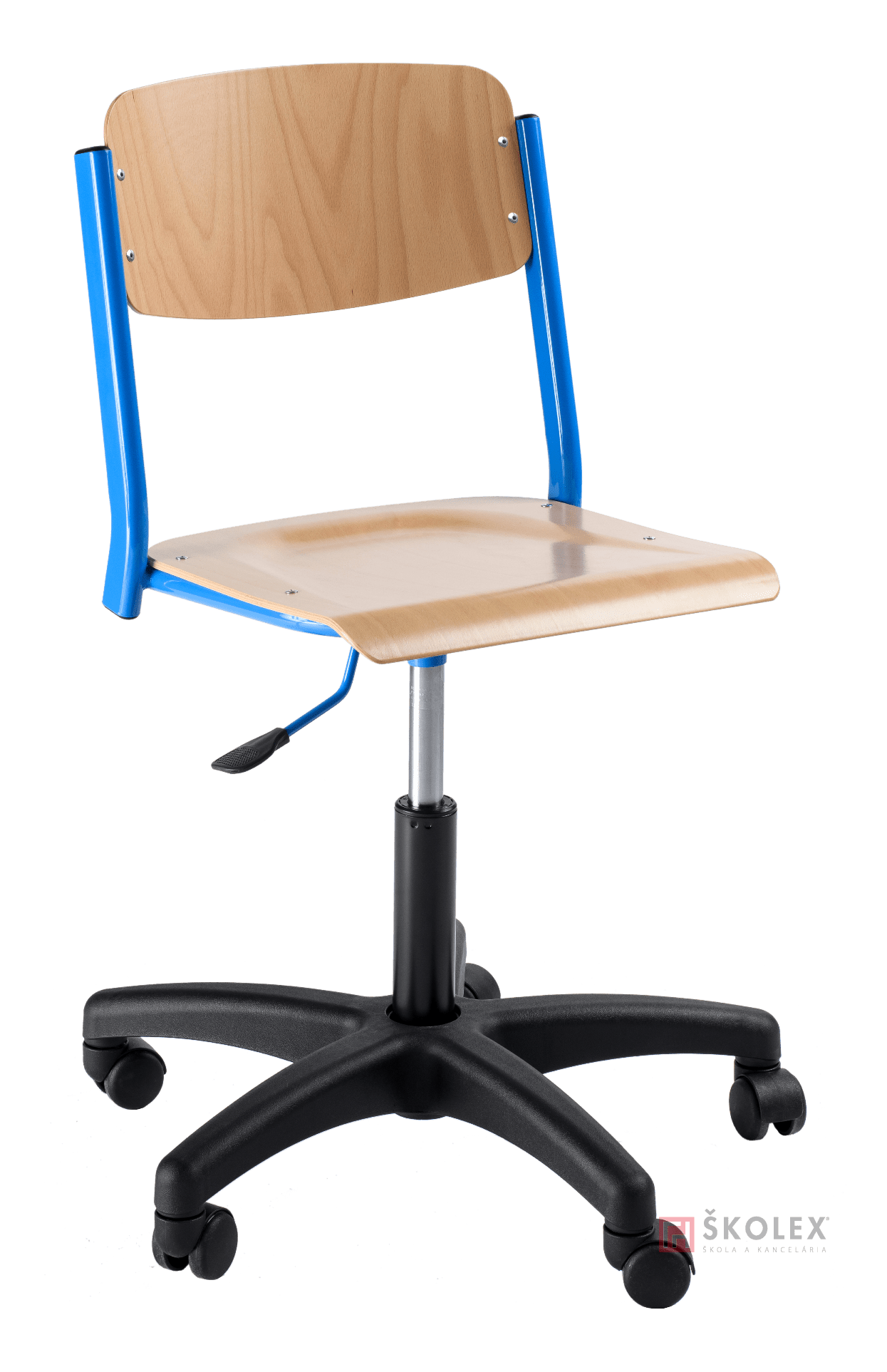 Chair On Wheels Height Adjustable School Chair Sokrates On Wheels