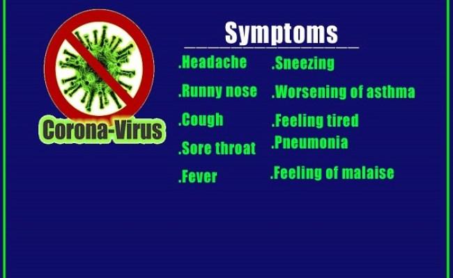 What Is Coronavirus In China Symptoms Causes Treatment