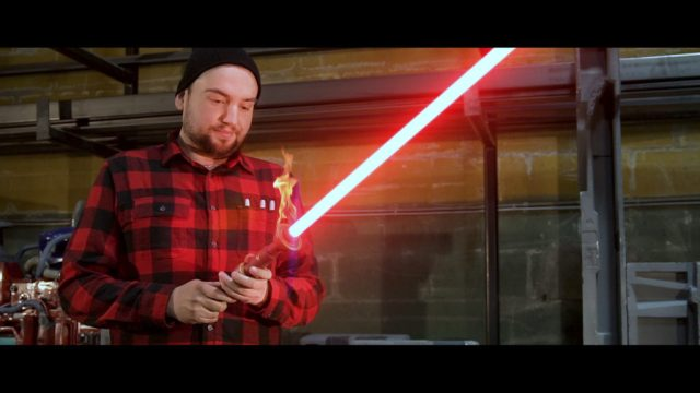 The Lightsabre Maker