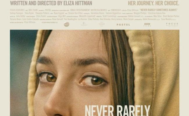 """Poster for the movie """"Never Rarely Sometimes Always"""""""