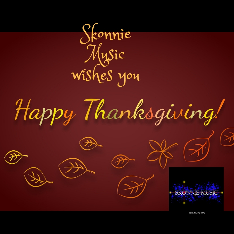 Skonnie Music Happy Thanksgiving