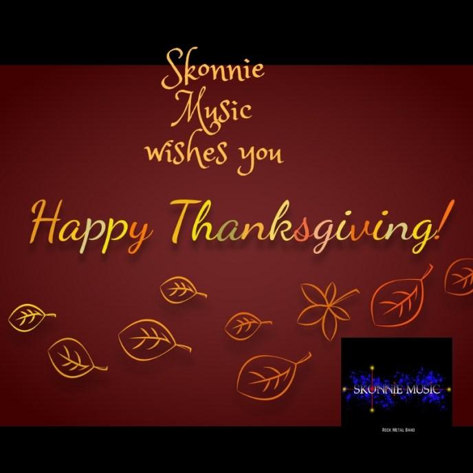 Skonnie Music Happy Thanksgiving