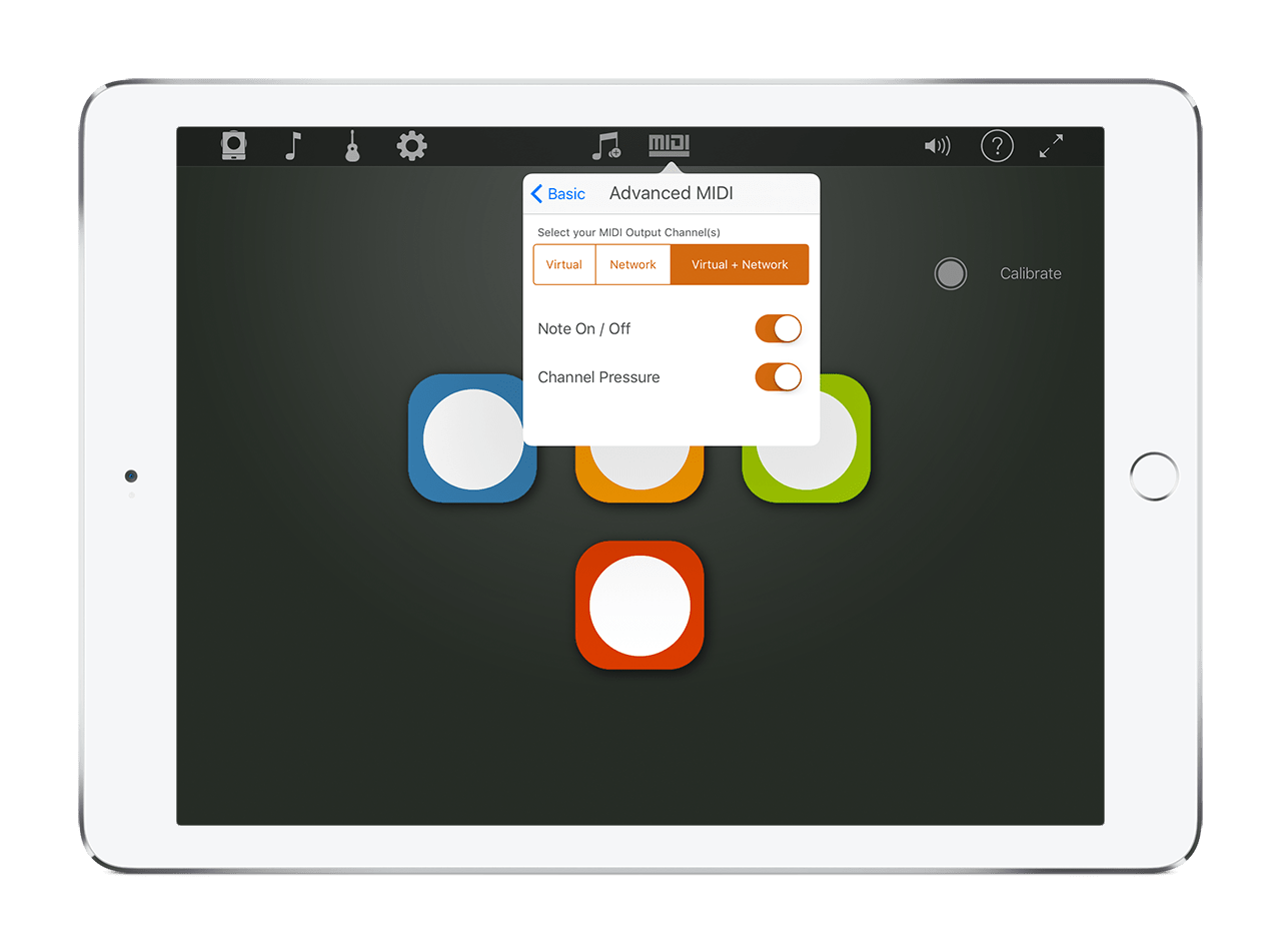 Connecting to Other Apps Using MIDI in the Skoog App