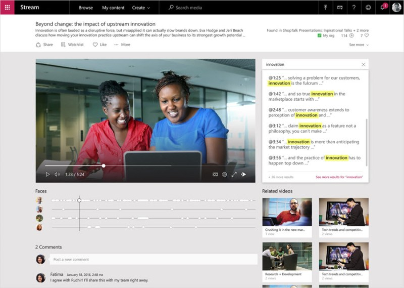 Microsoft Stream for education