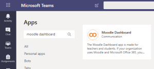 The Moodle Teams App by Skooler Is Now Available