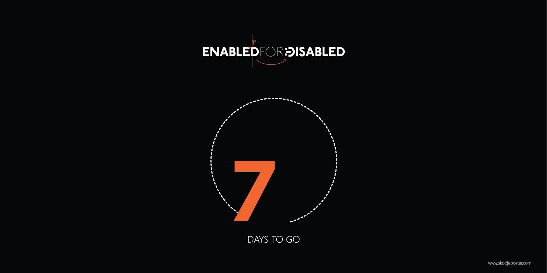 "Seven Days to deadline of 8 ISPC ""Enabled for Disabled"""