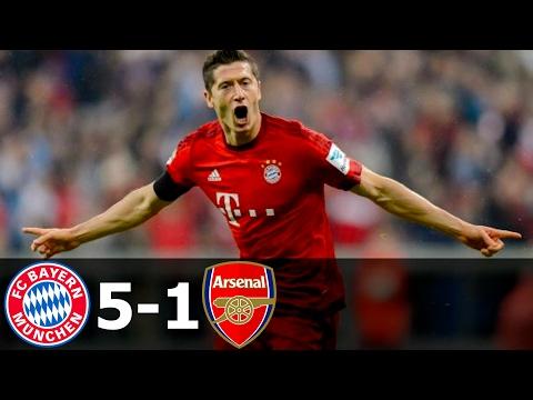 Hasil Pertandingan Bayern Munchen vs Arsenal HD Video