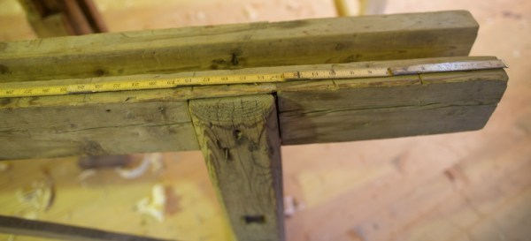 "I andre enden stikk langborda 16"" utom senter fot. Foto: Roald Renmælmo"