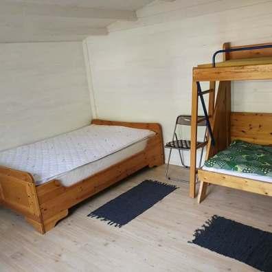 Sovepladser hytte 1