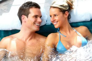 The Way To Anyone's Heart Is A Hot Tub