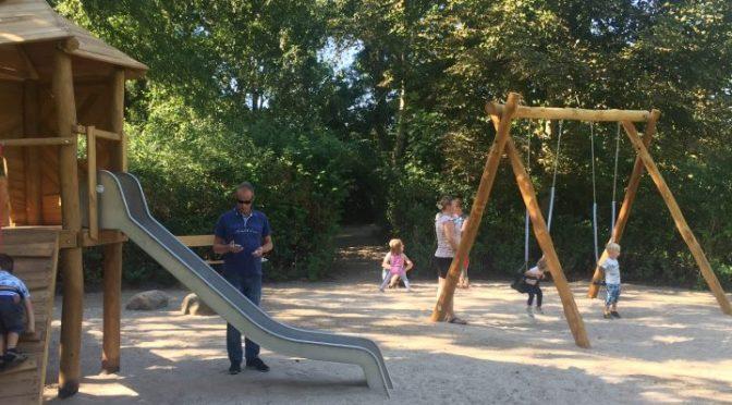 Indvielse af ny legeplads i Skovlunde Bypark