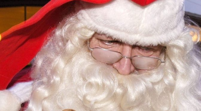 Julemanden kommer til Skovlunde