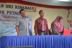 Guru Besar, En Matusin Matali bersama PK1 dan YDP PIBG