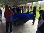Perkhemahan unit beruniform 2017   Pasang khemah