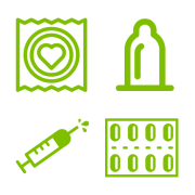 Keep it Safe Saskatchewan contraceptives icon